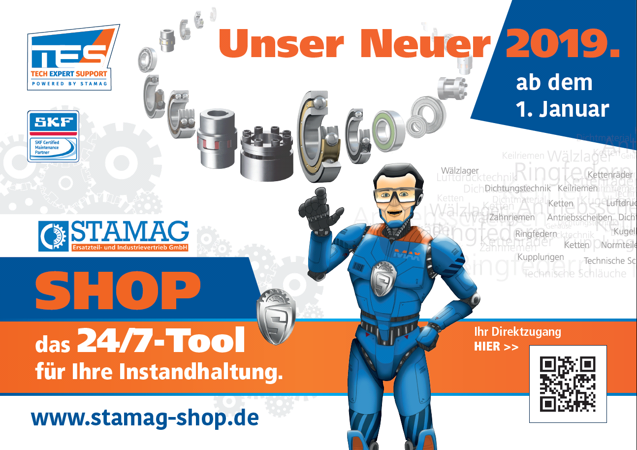 Relaunch STAMAG Shop